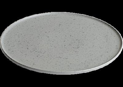Ombria Plate Slate Grey