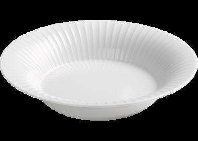 Hammershøi Deep Plate White 21cm