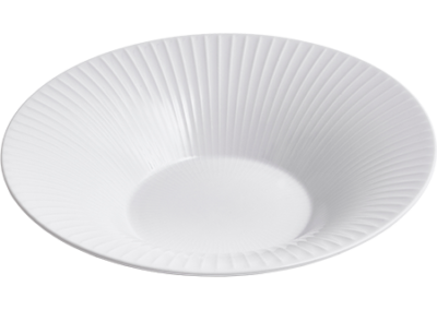 Hammershøi Deep Plate White 26cm