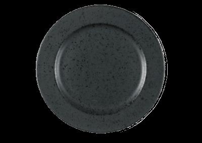 Dessert Plate Black 22cm