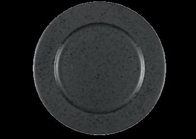 Dinner Plate Black 27cm