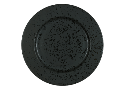 Serving Plate Black 30cm