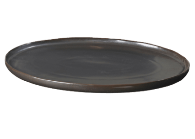 Plate Oval Esrum Night Large