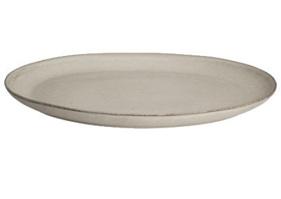 Plate Oval Nordic Sand Extra Large