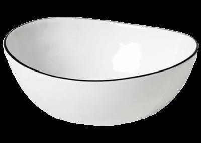 Bowl Salt 15.5x17x6cm