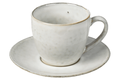 Cup w/Saucer Nordic Sand 15cl