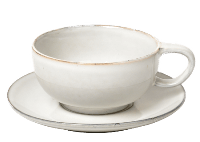 Cup w/Saucer Nordic Sand 25cl