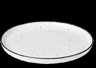 Dessert Plate w/Dots Salt