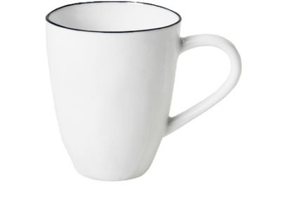 Mug w/Handle Salt 30cl