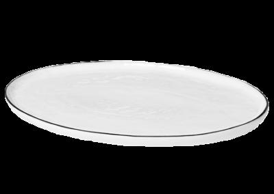 Plate Oval Salt