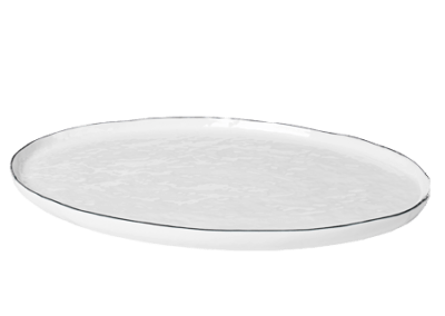 Plate Oval Salt Large