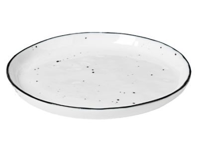 Side Plate w/Dots Salt