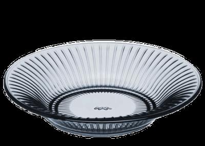 Hammershøi Glass Plate Indigo 17cm