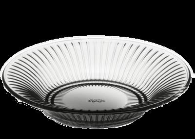 Hammershøi Glass Plate Smoke 17cm