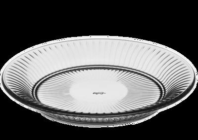 Hammershøi Glass Plate Smoke 22cm