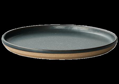 Ceramic Lab Clk 151 Plate 20cm Black Century Design