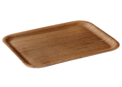 Nonslip Rectangular Tray 32cm