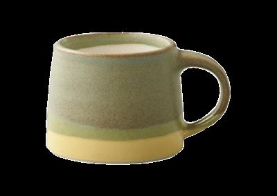 SCS-S03 Mug Moss Green/Yellow 110ml