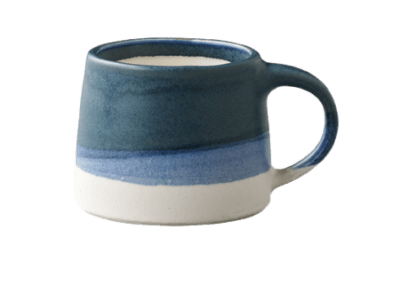 SCS-S03 Mug Navy/White 110ml
