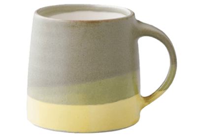 SCS-S03 Mug Moss Green/Yellow 320ml
