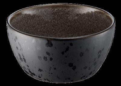 Bowl Matte Black/Shiny Grey 12cm