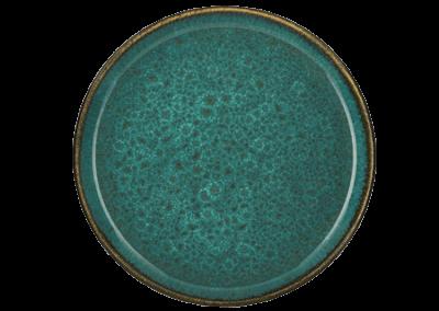 Gastro Plate Matte Green/Shiny Green 21cm