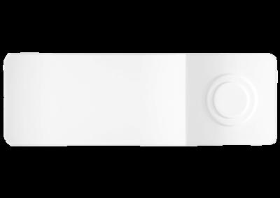 API Rectangular Plate w/Saucer