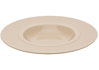 Bahia  Beige Dune Shallow Bowl Wide Rim 26cm