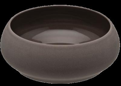 Bahia Brown Basalt Gourmet Bowl 14cm