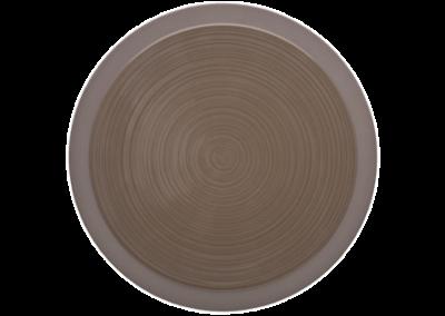 Bahia Brown Basalt Plate 29cm