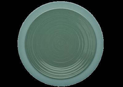 Bahia Green Clay Plate 26cm