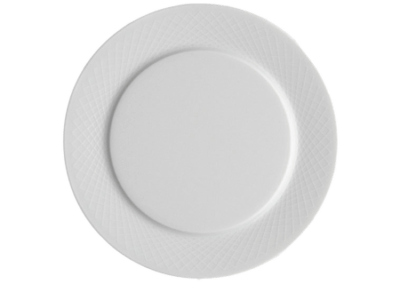 Graphique White Side Plate Wide Rim 14cm