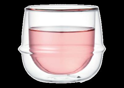 Kronos Double Wall Wine Glass