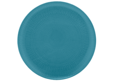 Modulo Nature Blue Coupe Presentation Plate 31.5cm