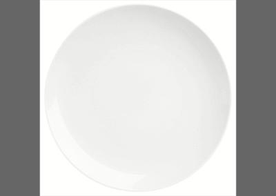 Modulo White Coupe Plate 29cm