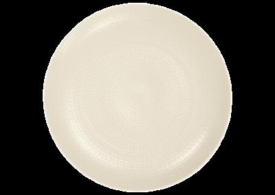 Modulo Nature Kaolin Coupe Plate 28cm