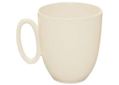 Modulo Nature Kaolin Mug 33cl
