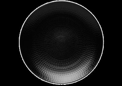 Modulo Nature Lava Stone Coupe Plate 21cm