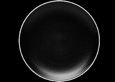 Modulo Nature Lava Stone Coupe Plate 28cm