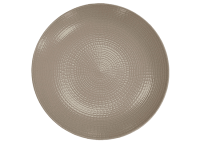 Modulo Nature Taupe Coupe Plate 21cm