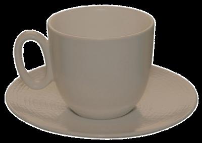 Modulo Nature Taupe Espresso Cup & Saucer 11.5cl