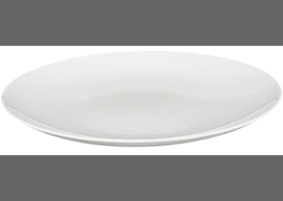 Modulo White Coupe Plate 26cm