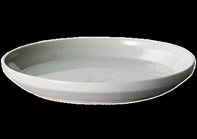 Rim Plate 16cm Earth Grey