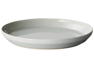 Rim Plate 20.5cm Earth Grey