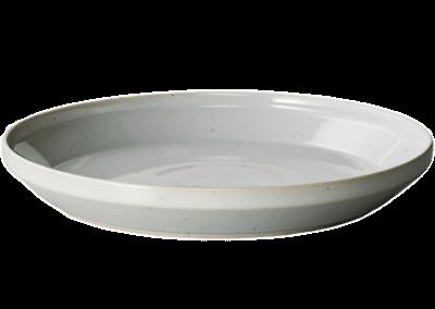Rim Plate 24cm Earth Grey