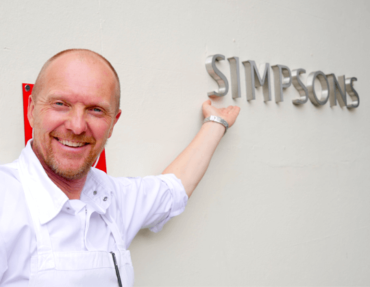 We celebrate 25 years of the iconic 'Simpsons Restaurant' in Birmingham with its Michelin starred executive chef Luke Tipping