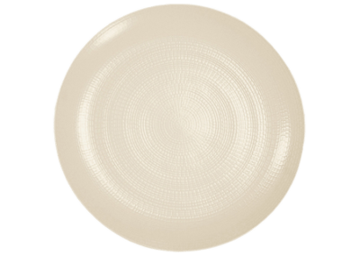 Modulo Nature Kaolin Coupe Presentation Plate 31.5cm