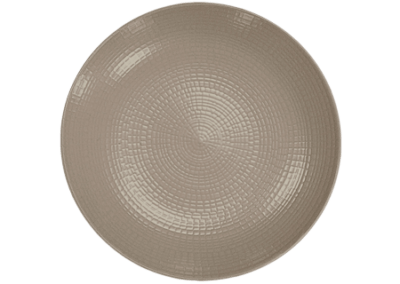 Modulo Nature Taupe Coupe Side Plate 16cm