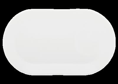 Essentielle Oblong Plate 12cm x 20cm