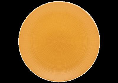Modulo Nature Provence Ochre Coupe Plate 21cm